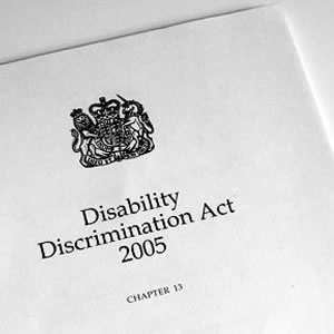 Disability and Discrimination Act