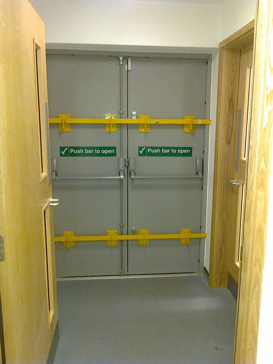 Security doors leicester steel security door manufacturers for Door security