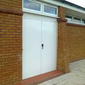 Fire Exit - Annesley Parish Hall