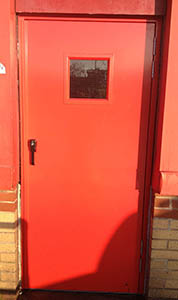 Fire Exit - ZF Gears Crick Northants