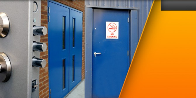 Metal Security Doors, Steel Security Door, Fire Exits - MDM Security Doors