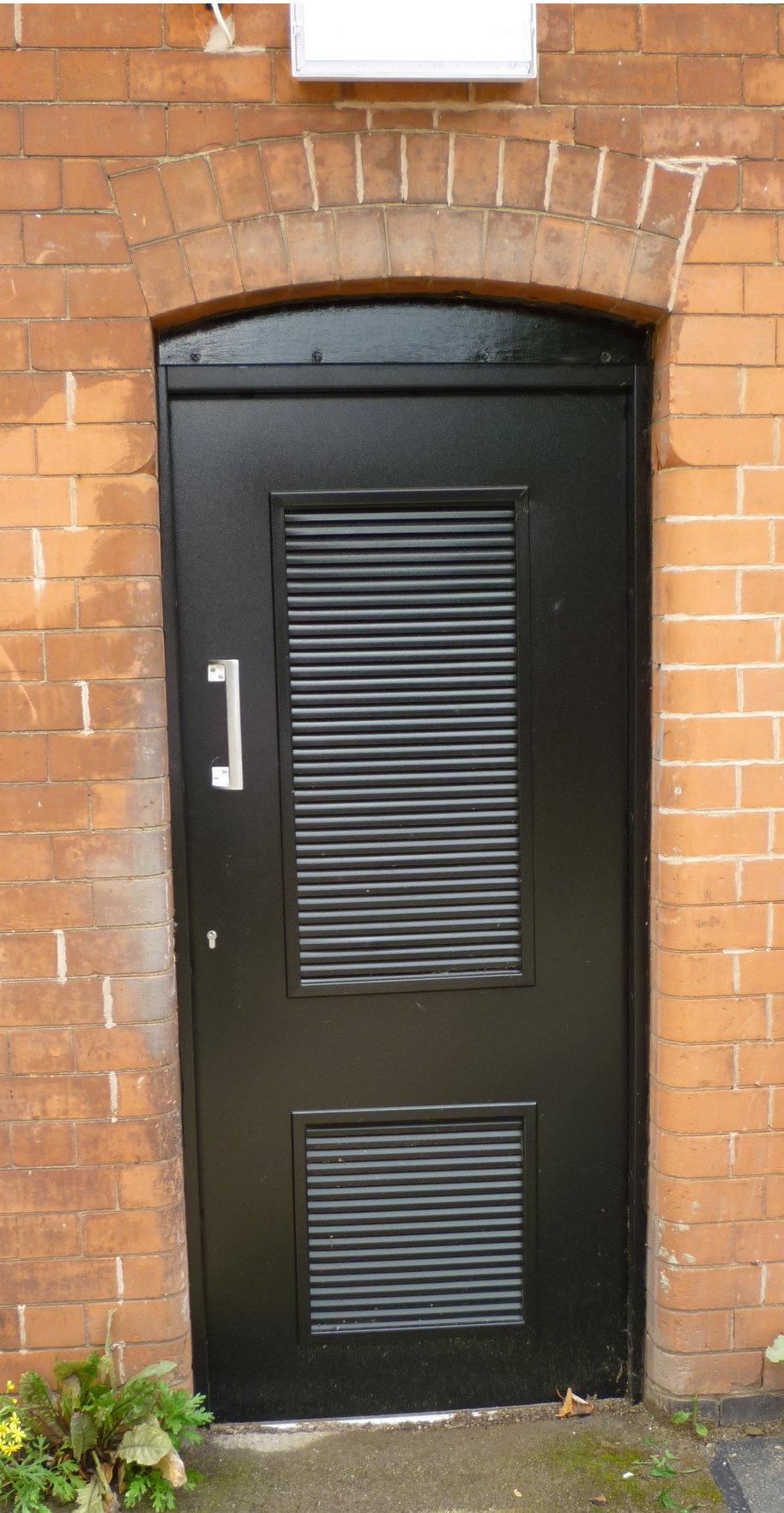 Plant Room Doors Louvred Plantroom Door